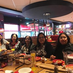 2019 Mothers Day Celebration at Pizza Hut by Mahila Mandal